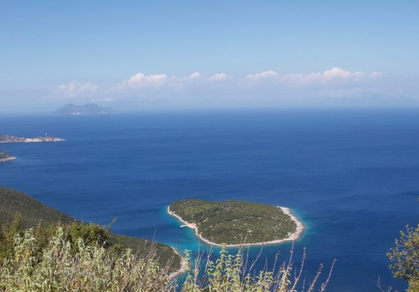 Starkwind in Ithaka - Inselrundfahrt